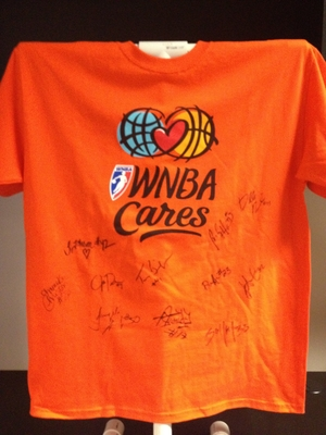 WNBA Cares Autograph Tee
